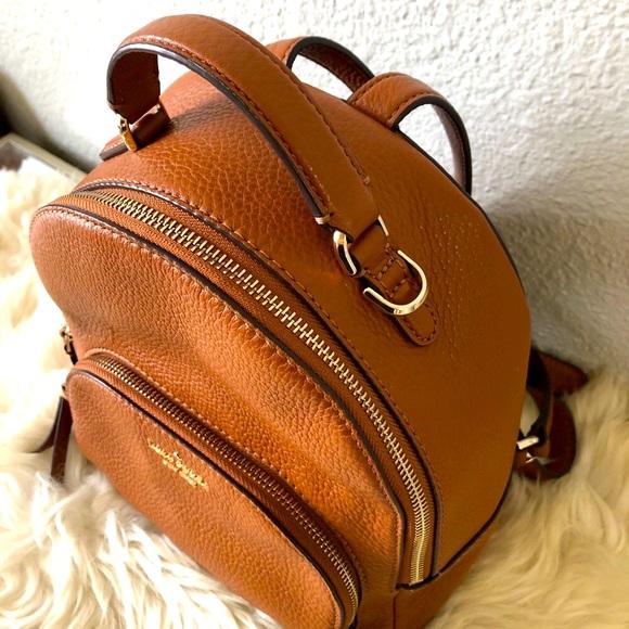 EUC Kate Spade mini leather backpack purse